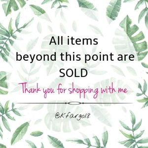 💚Thank you for shopping with me!💚